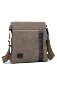 Korean Style Sling Shoulder Bag (Brown)