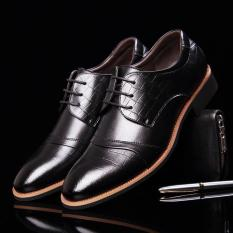 Korean Version Of The Business Breathable Pointed Shoes (Wedding Shoes) For Men - Intl