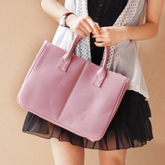Lady Women Pu Leather Shoulder Handbag With Purse, Fashion Waterproof Bag