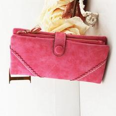 OEM Leather Purse Long Zip Wallet Card Bag 19x9x3cm