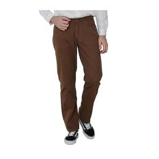 Lee Cooper Jeans Pria Regular Fit Dark Brown Lc 110