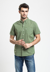 Levi's Classic One Pocket Shirt - Plaid Vineyard Green