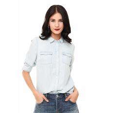 Levi's Modern Western Shirt - Tencel Denim Light