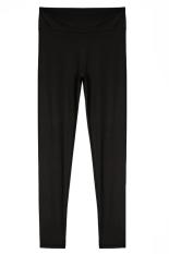 Linemart Candy Color Women Fitness Sport Training Running Pants (Black) (Intl)