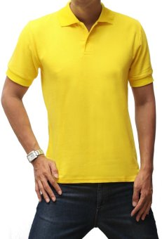 Louis Casual Design Men's Polo Shirt - Kuning