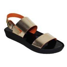 Marlee AC-06 Platform Sandal - Gold