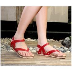 Marlee Flatbed Flip Sandal IB-11 Merah