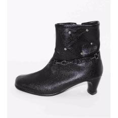 Marlee PC02-4 Sepatu Boot Anak Perempuan - Hitam