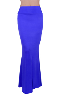Maxi Long Skirt (Blue)