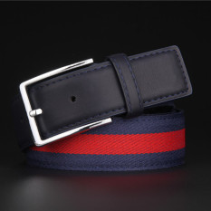 Men Korean Style Casual Jeans Belt MBTP1640-3 Blue