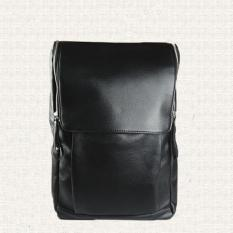 Men Shoulder Bag Student Leisure Backpack Fashion Pu Leather - intl