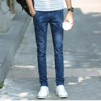 Men Stretchy Slim Jeans Pants (Intl) - Intl