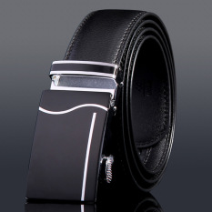 Mens Belts Luxury Designer Genuine Leather 100% Cow Skin Strap Male Formal Girdles 110cm 8#