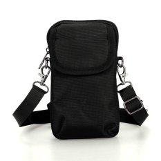 Men's Canvas Handbag Shoulder Bag Outdoor Sport Casual Hot Portable Black