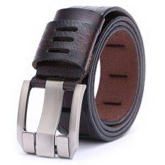 Men's Genuine Leather Belt Fashion Belts 115cm (Intl)