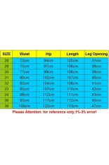 Men's Pants Relaxed Fit Cotton Trousers Multi-pocket Overalls (Yellow) (Intl)