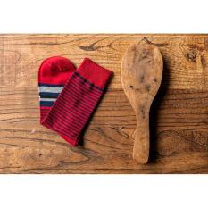 Men's Personality Casual Cotton Socks Fashion High Quality Socks The Latest Design Socks Five Pairs (Red) - Intl