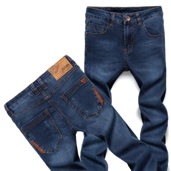 Men's Slim Fit Straight Leg Jeans - Intl