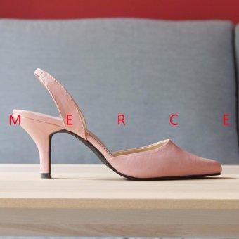 Merce - Isabel Kimora Pump Heels (Peach)