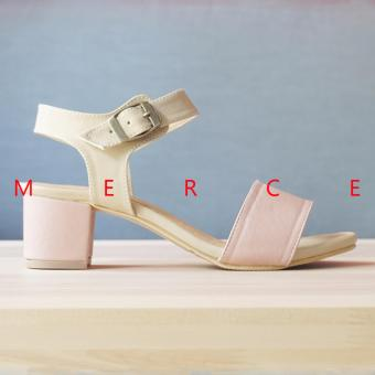 Merce - Isabel Naomi Block Heels (Pink)