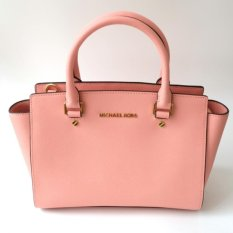 Michael Kors Selma Medium Satchel - Pale Pink