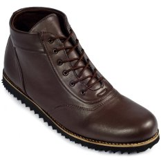 MIG Footwear Phantom Boots Darkbrown - Coklat Tua
