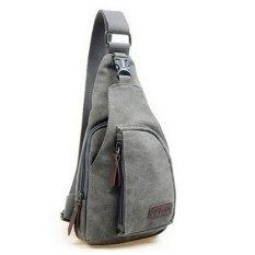 Milaan Shop - Bodypack Bag Tas Selempang Pria Bahan Jeans - Men Sling Shoulder Bags -
