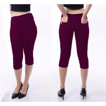 Harga MJ Celana Pendek Jeans - Ungu - PriceNia.com cda789c14e