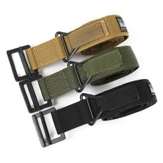 Moreno Sabuk Ikat Pinggang Blackhawk Tactical Belt Gesper Airsoft - Hijau Army