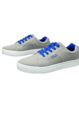 Movement Of Breathable Men Sneakers British Fashion Shoes(Grey) (Intl)