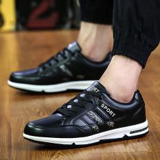MT Korean Explosion Models Fashion Casual Shoes, Simple Classic Retro Sneakers (Black) - Intl