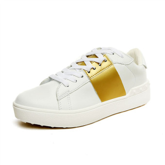 MT New Female Sports Flat Shoes, Casual Summer Running Shoes (Gold) - Intl - Intl