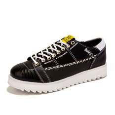 MT New Heavy-bottomed Shoes Breathable Mesh Shoes, Fashion Institute Wind Sneakers (Black) - Intl