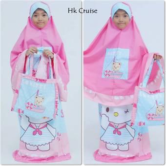... Mukena Anak HK Cruise Caracter Pink