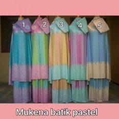 Mukena Batik Pastel Warna No.2