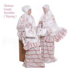 Mukena Couple Ibu Dan Anak Roselline (Kepang)