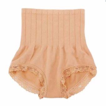 Munafie Korset Celana Pelangsing Tubuh Wanita Renda Pengecil Pengencang Pantat Badan Ideal Perut Ramping Slimlift Seksi