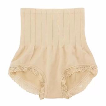 Munafie Slim Pant Korset Japan Celana Pelangsing - Cream