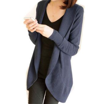 Musim Gugur Musim Dingin Wanita Panjang Lengan Baju Sweter Rajutan Sweater Jumper Cardigans
