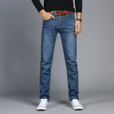 Chaonan kepribadian musim gugur model pria remaja celana jeans celana panjang (097). Rp