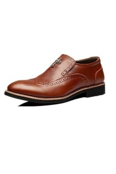 MX54 Formal Casual Shoes (Brown)