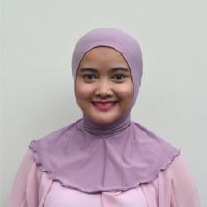 Harga Mysha Hijab Ciput Antem Tali Coklat Tua Kopi by ELC Source Mysha .