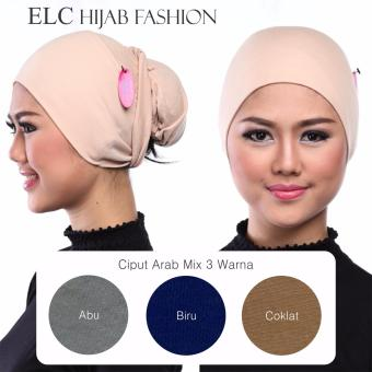 Mysha Hijab - Ciput Arab - Mix 1 by ELC (Get 3 Pcs)