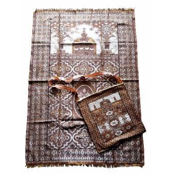 Nabawi Sajadah Tas Masjid Kotak \[Coklat]\