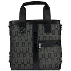 Neu Men's Leather Handbag Messenger Shoulder Briefcase Business Bags - Intl