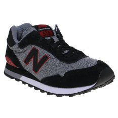 New Balance 515 Men's Running Shoes - Black-Red
