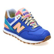 New Balance Women's Lifestyle Explorer ML574 Sepatu Sneakers Wanita - Biru