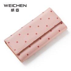 New Cute Lady Wallet Portable Multifunction Long Wallets, Hot Female Change Purse, Women Coin Purses Card Holder Cartera-pink - Intl