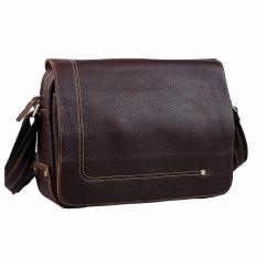 New Designer First Layer Cow Leather Men Bag 100% Genuine Leather Crossbody Bag Men's Messenger Bag Shoulder Bags Casual LI-1251 - Intl