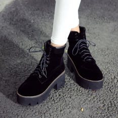 New fashion sexy high-heeled knight waterproof boots Autumn and winter season Martin short boots women shoes